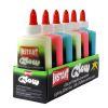 Adhesivo glow luminiscente 6 colores 147 ml