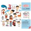 Block para colorear de etnias Chilenas + stickers