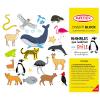 Block para colorear animales Chilenos + stickers