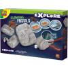 Explore, fósiles brillantes