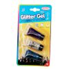 Glitter gel para pelo y cara