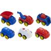 6 Vehículos de construcción y rescate 12cm