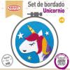 Set de bordado Unicornio