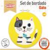 Set de bordado Gato
