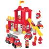 Abrick - Estación de bomberos con accesorios 14pz