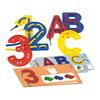ABC 123, Juego 27 letras + 10 números