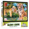 Puzzle 500pz Glow in the Dark - Un ojo vigilante