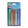 Set 5 lápices glitter glue, 5 colores