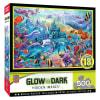 Puzzle 500pz Glow in the Dark - Castillo en el océano