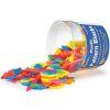 Bloques poligonales brillantes 250pz en pote