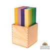 Puente Leonardo arcoíris en caja, 100 pz