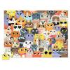 Puzzle 72pz lote de gatos