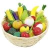 Frutas y verduras de madera 23pz