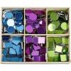Caja organizadora + piezas de mosaico manualidades, 300 u.