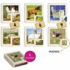 Puzzle Foto Animales de la Granja, set de 6