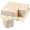 Set bandeja con 9 cubos madera paulonia