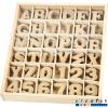 Caja organizadora + letras y números para decorar, 288 u.