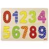 Puzzle Encaje Números 0 al 9 30x21cm