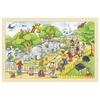 Puzzle 24pz Visita al Zoo 30*20cm