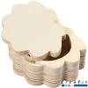 Caja de madera diseño concha
