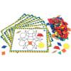 Conjunto de actividades de bloques poligonales