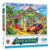 Puzzle 1.000pz Seek & Find - Diversión en la playa