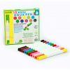 Marcadores recargables con agua, 10 colores