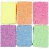 Pack 6 bolsitas soft foam colores neón, 10 gr.
