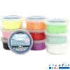Pack 10 potes foam clay, colores surtidos