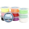Pack 10 potes foam clay colores surtidos, 35 gr.