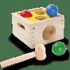 Caja de descarga martillo y bolas
