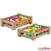 Cajas de frutas y verduras plásticas