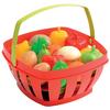 Cesta con frutas y verduras 16pz