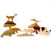 Set Amazonas 10pz, serie madera nativa