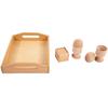 Bandeja Objetos 3D Montessori