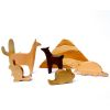 Set Atacama 11pz, serie madera nativa