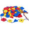 Botones Geométricos en bolsa 81pz