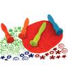 Estampa figuras 4 diseños para pintura y masa