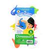 Set de 6 sellos dinosaurios