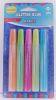 Glitter Glue 5 colores pasteles de 15 grs - Set 5 un
