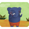 El elefante y el ratón cuento Kamishibai A4