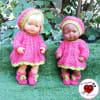 Vestido de lana 5pz modelo Elena