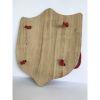 Escudo, línea madera nativa