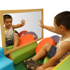 Espejo Irromplible marco de madera 40x60cm