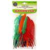 Plumas de colores para manualidades 60pz