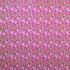 Paño lenci estampado flores fondo fucsia 10 pliegos 40x60cm