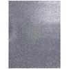 Goma eva glitter 56x43 cm plateado 10 unidades