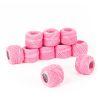 Hilo para bordar color rosa suave 10grs 10 ovillos