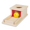 Caja de permanencia con bandeja Montessori