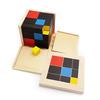 Cubo Trinominal Montessori